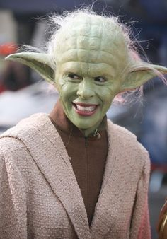 Yoda special effects makeup