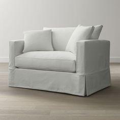 Willow Twin Sleeper Sofa - Crate and Barrel