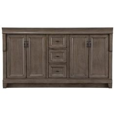 Foremost Naples 60 in. W Vanity Cabinet Only in Distressed Grey NADGA6021D at The Home Depot - Mobile
