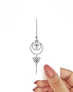 Tattoo designs ideas sketches tatoo New Ideas Mini Tattoos, Trendy Tattoos, Small Tattoos, Popular Tattoos, Unalome Tattoo, Underboob Tattoo, Finger Tattoos, Body Art Tattoos, Tatoos