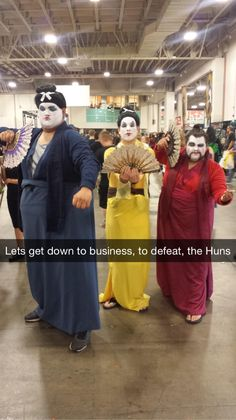 """Let's get down to business, to defeat the Huns"" -- SLC Comic Con via CliveBixby22"