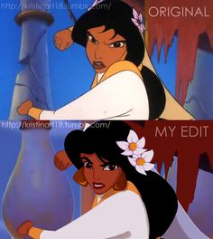 Aladdin 3 Edit bc the original animation was SHit. Not my art work Disney Edit