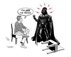 """You ARE The Father"" Maury x Vader Giclee Print"