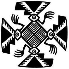 ser pura alma: diseños precolombinos Arte Tribal, Tribal Art, Mexican Graphic Design, Art Alevel, Aztec Culture, Native American Symbols, Paperclay, Indigenous Art, Gourd Art