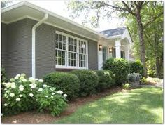 painted brick homes before and after pics - Google Search