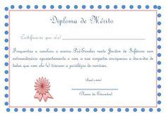 Educ@ naWeb ....Pré-Escolar: Diplomas de Finalistas Place Cards, Place Card Holders, Printables, Box, Ideas, Fifth Grade, Party, Sweet, Snare Drum