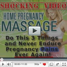 "If you suffering any of such pregnancy related problem, there is one online program ""Home pregnancy massage"" that you should avail to deal with the problem."