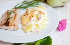 LowCarb falsches Kartoffelgratin - Dünya mutfağı - Las recetas más prácticas y fáciles Lunch Recipes, Paleo Recipes, Low Carb Recipes, Cooking Recipes, Kohlrabi Gratin, Low Carb Köstlichkeiten, Easy Low Carb Lunches, Lunch To Go, Eat Smart