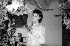 Audrey Hepburn in Rome, 1955, photo by Milton Greene