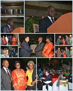 An overwhelming feast was organized by High Commission of the Republic of Zambia on October 24, 2013 to celebrate their 49th Anniversary of Independence and was hosted by H.E. Brig. Gen. Patrick Romedyo Tembo, (Rtd), High Commissioner of Zambia and his spouse. The wonderful celebration was held at Hotel Vasant Continental, New Delhi.