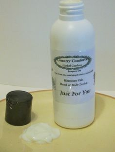 Just For You Hand & Body Lotion  New by CountryComfortsHG on Etsy