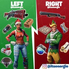 Left! || Fortnite Left or Right Epic Games Fortnite, Battle Royal, Supreme Wallpaper, Video Game Memes, Video Games, Gaming Memes, Overwatch, Minecraft, Logan