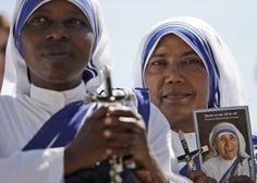 El papa Francisco canoniza a la madre Teresa de Calcuta