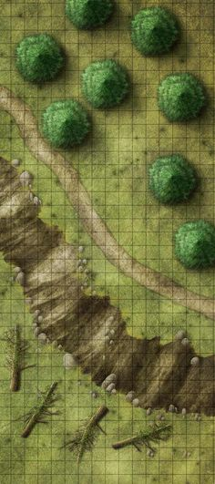 maps map forest fantasy wilderness trail ve years making theros dnd