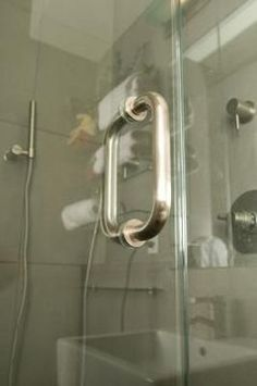 Remove soap scum from glass shower doors