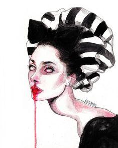Audrey Hepburn by Lucas David