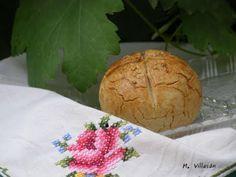 Pan de harina de arroz (sin gluten).