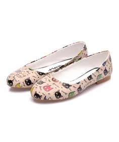 Another great find on #zulily! Pink Cat Ballet Flat #zulilyfinds