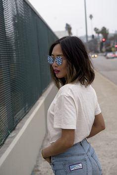 74c7446f33 Aimee of Song of Style collaborates with Gentle Monster to create the 101  sunnies Blue Sunglasses