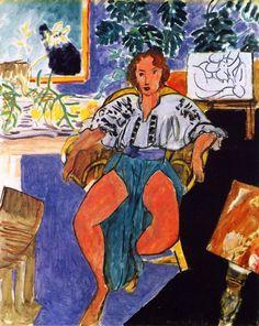Henri Matisse - 1939/40, Dancer in Repose