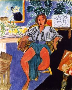 """dappledwithshadow: """" Dancer in Repose Henri Matisse 1939-1940 """""""