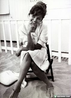 My name is Claudia because of Claudia Cardinale...oh, I love her!