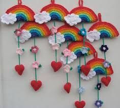 Resultado de imagen para pinterest crochet adornos colgantes maas