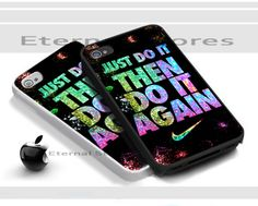 Nike Just Doit Then Doit Again,For iPhone 5 Black Case Cover | Eternalstores - Accessories on ArtFire