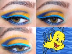I know that our Flounder's grandma is a makeup professional :)