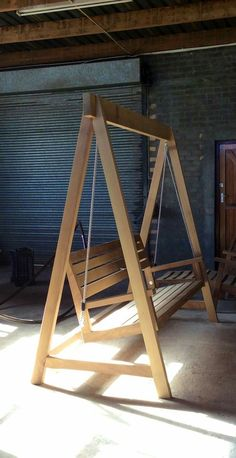 #swing #wood made by Marc Pincente