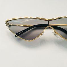 25a0b9f74b High Fashion CatEye Sunglasses DETAILS - - Depop Vintage Sunglasses