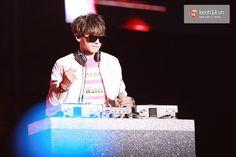[PIC] 150328 Music Bank Hanoi- Chanyeol (cr kenh14)