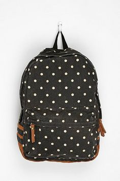 polka dot backpack ++ carrot