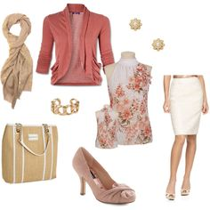 Sweet spring    Heels and sleeveless turtleneck are definitely my favorite!!    Especially the turtleneck! ;0)