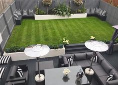 - Small garden design ideas are not simple to find. The small garden design is unique from other garden designs. Space plays an essential role in small . Back Garden Design, Modern Garden Design, Contemporary Garden, Landscape Design, Modern Design, Backyard Seating, Backyard Patio Designs, Back Garden Landscaping, Minimalist Garden