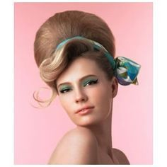 1960's hairstyles beehive easy - Google Search