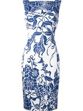 Emilio Pucci - fitted floral print dress