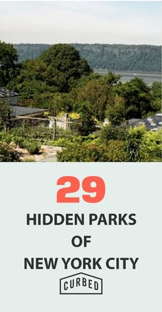 29 Hidden Parks of NYC