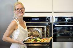 Fru Timian og ovnsbakte grønnsaker