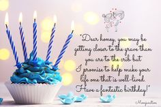 Romantic Birthday Messages, Birthday Wishes For Lover, Birthday Message For Husband, Birthday Wish For Husband, Happy Birthday Text, Birthday Poems, Happy Birthday Photos, Birthday Wishes Funny, Birthday Wishes Quotes