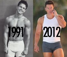The always sexy Marky Mark....