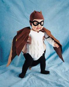 Owl costume tutorial for Halloween