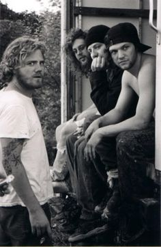 Some of the Jackass crew (rip Ryan dunn)