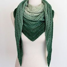 Crochet Shawl Ravelry: Kalari Shawl pattern by ambah - Kalari is a delightfully simple knit, perfect for cosying up by the fire and Crochet Shawls And Wraps, Knitted Shawls, Crochet Scarves, Crochet Clothes, Knit Crochet, Crochet Hats, Crochet Shirt, Knitting Patterns, Crochet Patterns