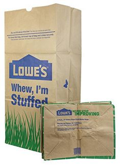 Costco 30 Gallon Paper Yard Waste Bags 25 Count Duro Lawn And