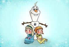 Frozen - Tiempo feliz congelado by celegiro.deviantart.com on @DeviantArt