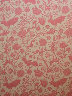 Elysian Fields wallpaper...page size sample sheets....gorgeous toile pattern with bats and Venus fly traps....the color palette is blowing my mind!!!!