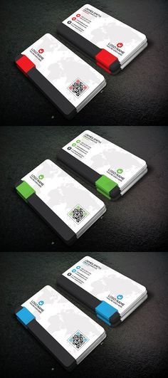 Corporate business card. Business Card Templates