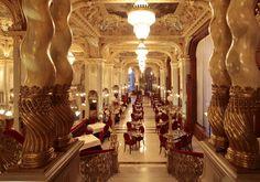 Boscolo Budapest | Restaurant & Bar. Luxury restaurant in Budapest, New York Cafè. Best hungarian and italian restaurant Budapest, Hungary.