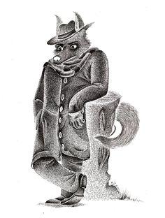El lobo de las estepas.